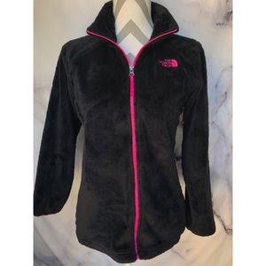 The North Face Osito Soft Zipup Jacket sz s